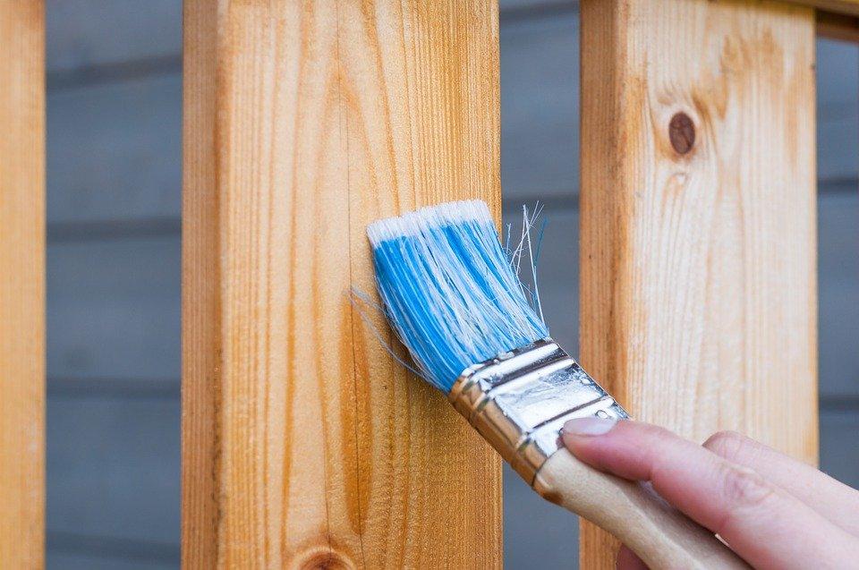 wood deck paint