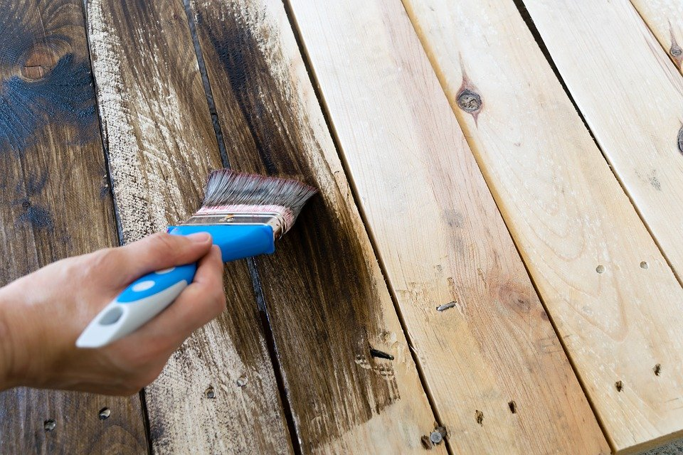 Painting your deck