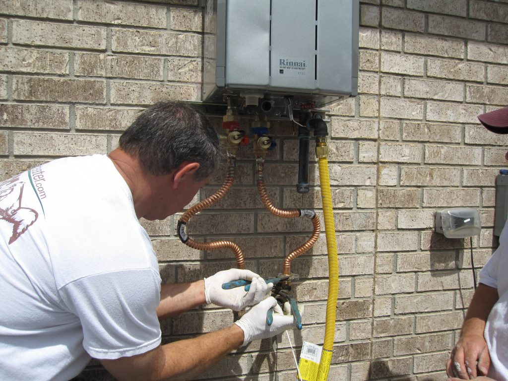 Installing Natural Gas Water Heater