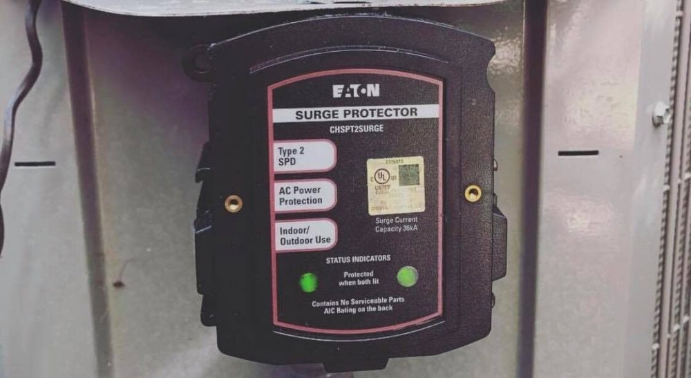 EATON SPD TYPE 2 CHSP WHOLE HOME SURGE PROTECTOR OUTDOOR SINGLE PHASE 120//240